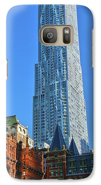 Galaxy Case featuring the photograph Beekman Tower by Mitch Cat