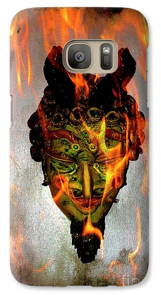 Galaxy Case featuring the photograph Beelzebub Iv by Al Bourassa
