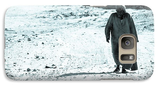 Galaxy Case featuring the photograph Been Doing This Walk For So Many Years by Jez C Self