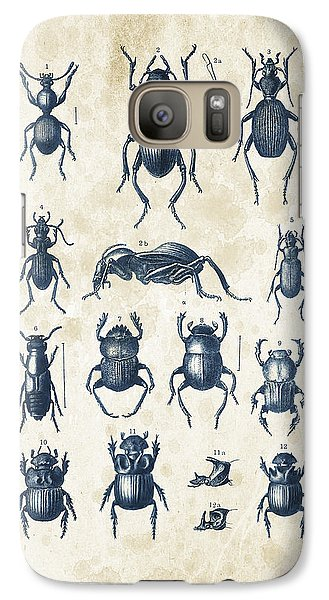Beetles - 1897 - 01 Galaxy S7 Case by Aged Pixel