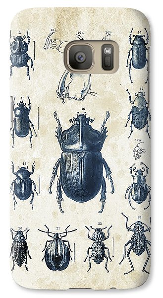 Beetles - 1897 - 02 Galaxy S7 Case by Aged Pixel