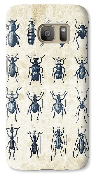 Beetles - 1897 - 03 Galaxy S7 Case by Aged Pixel