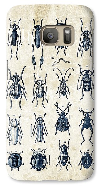 Beetles - 1897 - 04 Galaxy S7 Case by Aged Pixel