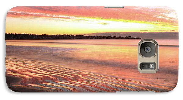 Galaxy Case featuring the photograph Before Sunrise At First Beach by Roupen  Baker