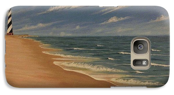 Galaxy Case featuring the painting Before The Move by Stacy C Bottoms
