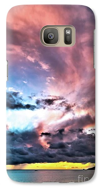 Galaxy Case featuring the photograph Before The Storm Avila Bay by Vivian Krug Cotton