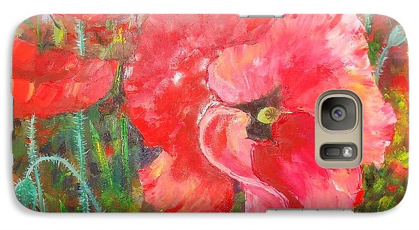 Galaxy Case featuring the painting Before The Storm by Nina Mitkova