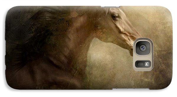 Galaxy Case featuring the photograph Behind Broken Mirror by Dorota Kudyba