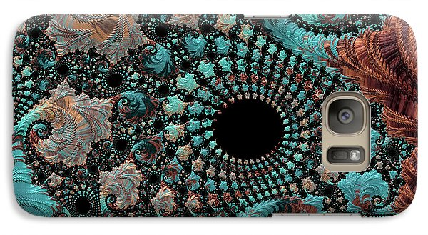 Galaxy Case featuring the digital art Bejeweled Fractal by Bonnie Bruno