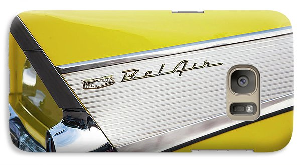 Galaxy Case featuring the photograph Bel Air Tail Fin by Toni Hopper