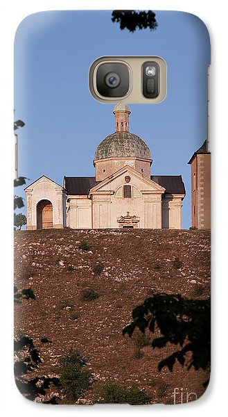 Galaxy Case featuring the photograph Belfry And Chapel Of Saint Sebastian by Michal Boubin
