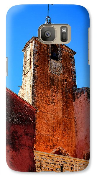 Galaxy Case featuring the photograph Belfry In Provence by Olivier Le Queinec