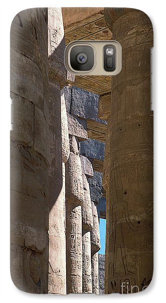 Galaxy Case featuring the photograph Belief In The Hereafter IIi by Urft Valley Art