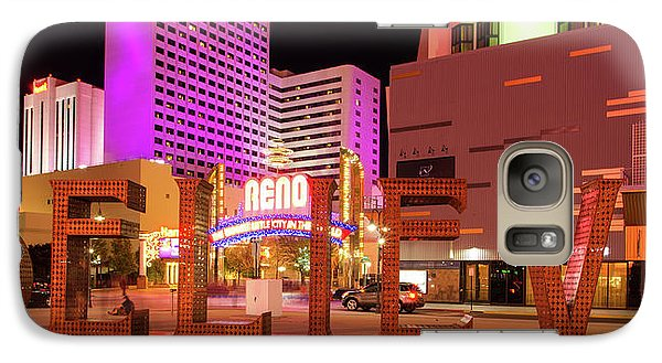 Galaxy Case featuring the photograph Believe Reno Nevada by Scott McGuire