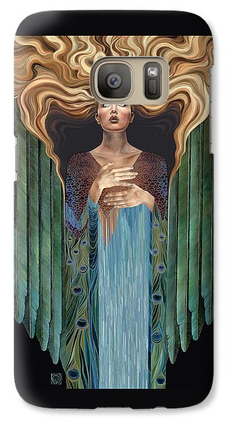 Galaxy Case featuring the painting Believer by Ragen Mendenhall