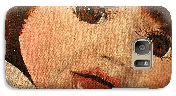 Galaxy Case featuring the painting Belinda by Jane Autry