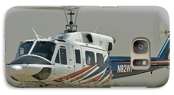 Galaxy Case featuring the photograph Bell 212 N82wp Phoenix-mesa Gateway Airport Arizona April 15 2016 by Brian Lockett