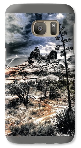 Galaxy Case featuring the photograph Bell Rock by Jim Hill