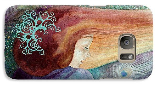 Galaxy Case featuring the painting Bella Aurora by Ragen Mendenhall