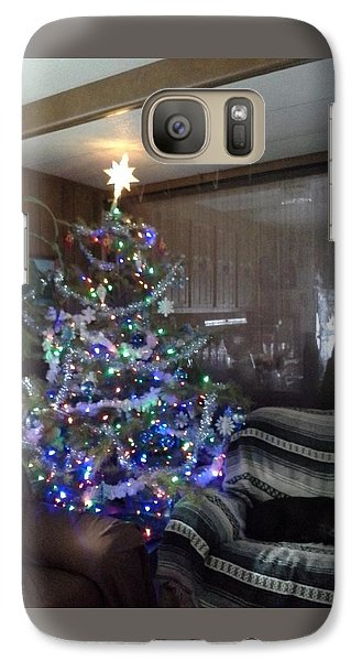 Galaxy Case featuring the photograph Bella Christmas 2013 by Jewel Hengen