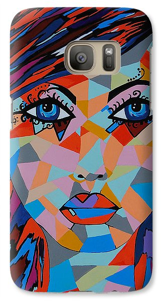 Galaxy Case featuring the painting Bella by Kathleen Sartoris