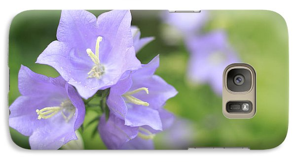 Galaxy Case featuring the photograph Bellflower by Charline Xia