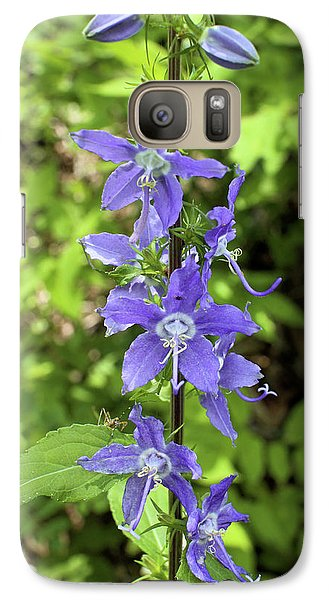 Galaxy Case featuring the photograph Bellflower by Scott Kingery