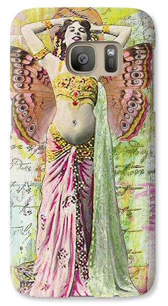Galaxy Case featuring the mixed media Belly Dancer by Desiree Paquette