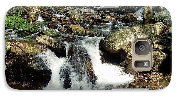Galaxy Case featuring the photograph Below Anna Ruby Falls by Jerry Battle