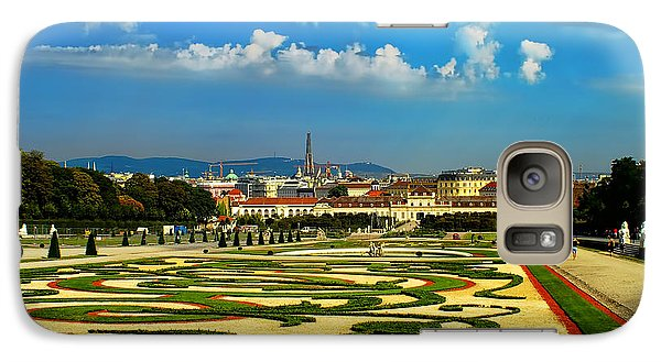 Galaxy Case featuring the photograph Belvedere Palace Gardens by Mariola Bitner
