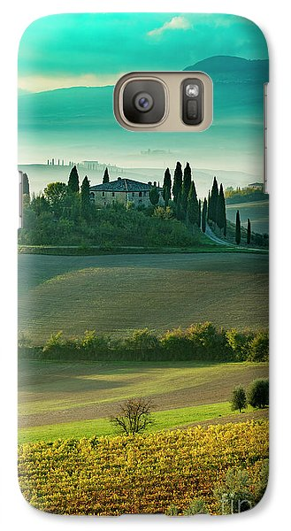 Galaxy Case featuring the photograph Belvedere - Tuscany II by Brian Jannsen