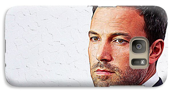 Ben Affleck Galaxy S7 Case by Iguanna Espinosa