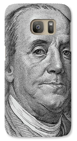 Galaxy Case featuring the photograph Ben Franklin by Les Cunliffe