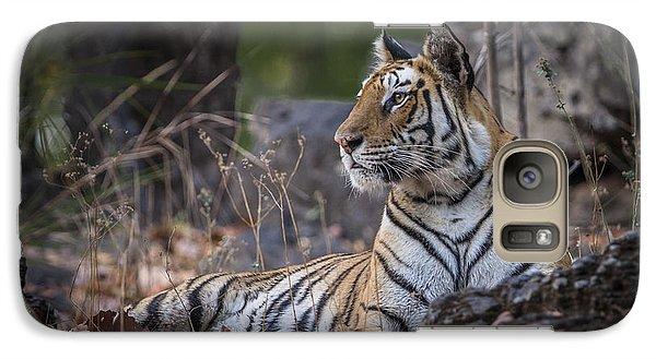 Bengal Tiger Galaxy S7 Case by Hitendra SINKAR