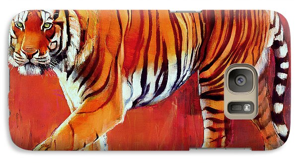 Bengal Tiger  Galaxy S7 Case by Mark Adlington