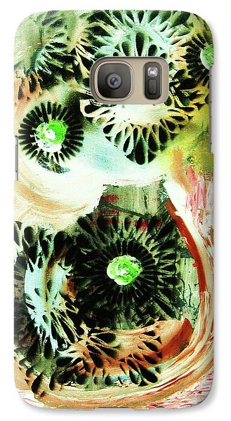 Galaxy Case featuring the painting Bengal Tigers by Roberto Prusso