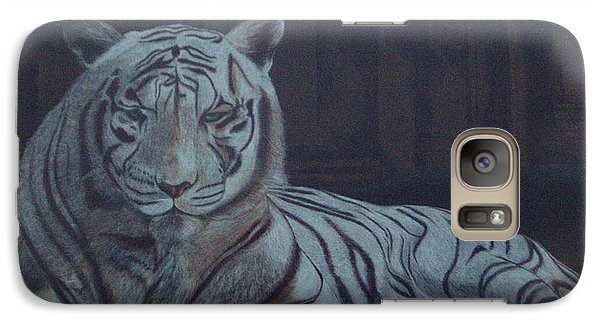 Galaxy Case featuring the painting Bengala Tiger by Fanny Diaz