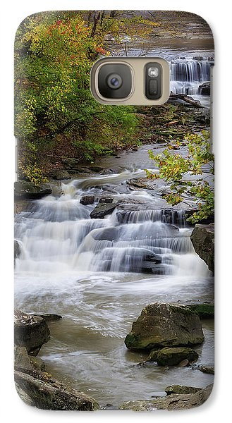 Galaxy Case featuring the photograph Berea Falls by Dale Kincaid