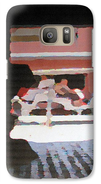 Galaxy Case featuring the photograph Bermuda Carriage Impressions by Ian  MacDonald