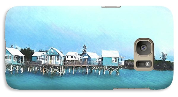 Bermuda Coastal Cabins Galaxy S7 Case