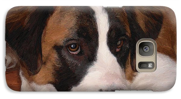 Galaxy Case featuring the painting Bernadette by Doug Kreuger