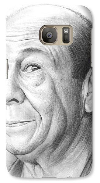 Wizard Galaxy S7 Case - Bert Lahr by Greg Joens