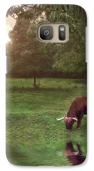 Galaxy Case featuring the photograph Beside Still Waters by Mark Fuller