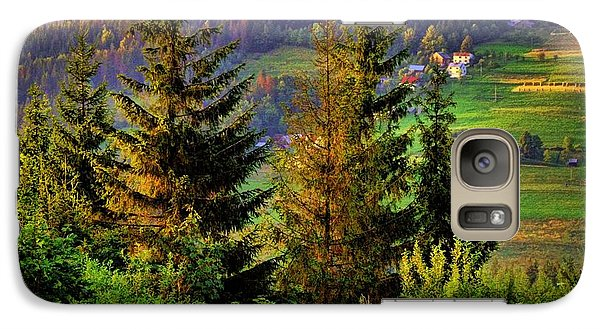 Galaxy Case featuring the photograph Beskidy Mountains by Mariola Bitner