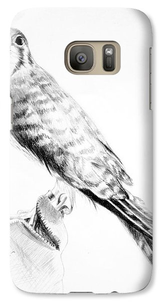 Galaxy Case featuring the drawing Best Friend by Eleonora Perlic