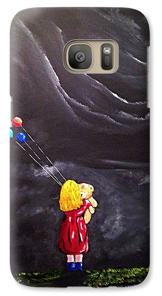 Galaxy Case featuring the painting Best Friends by Scott Wilmot