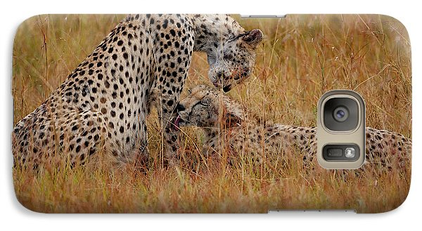 Best Of Friends Galaxy Case by Nichola Denny
