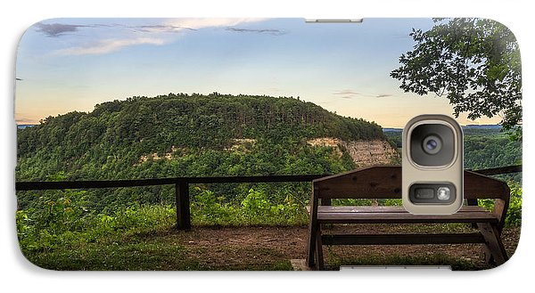 Galaxy Case featuring the photograph Best Seat In The House by Mark Papke