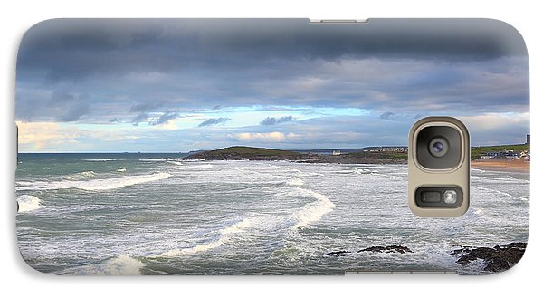 Galaxy Case featuring the photograph Between Cornish Storms 1 by Nicholas Burningham