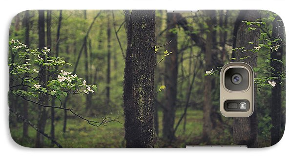 Galaxy Case featuring the photograph Between The Dogwoods by Shane Holsclaw